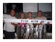 fish caught off of Waukegan Harbor on the Playin' Hooky charter boat