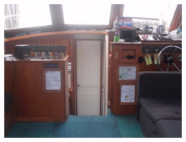 Playin Hooky charters Boat Interior